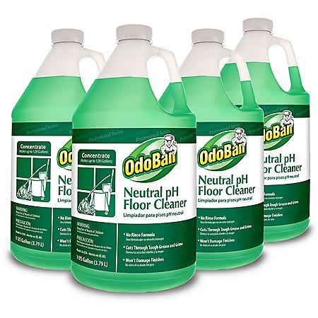 OdoBan Earth Choice Neutral pH Floor Cleaner (4 ct.)