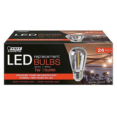 Feit Electric LED Filament Bulbs (24 pk.)