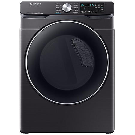 SAMSUNG 7.5 cu. ft. Smart Front Load Dryer with Steam Sanitize+ - DVE45R6300 / DVG45R6300 - (Choose Fuel Type / Finish)