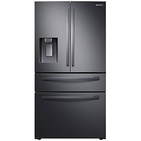 SAMSUNG 28 cu. ft. 4-Door French Door Refrigerator with FlexZone™ Drawer -  RF28R7201 - (Choose Finish)