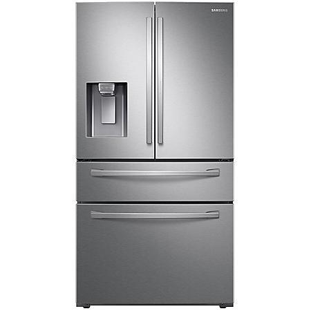 SAMSUNG 28 cu. ft. 4-Door French Door  Food Showcase Refrigerator - RF28R7351 - (Choose Finish)