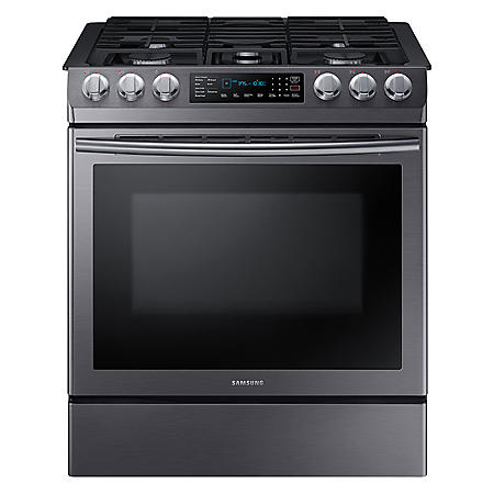 Samsung 5.8 cu. ft. Slide In Gas Range with Fan Convection