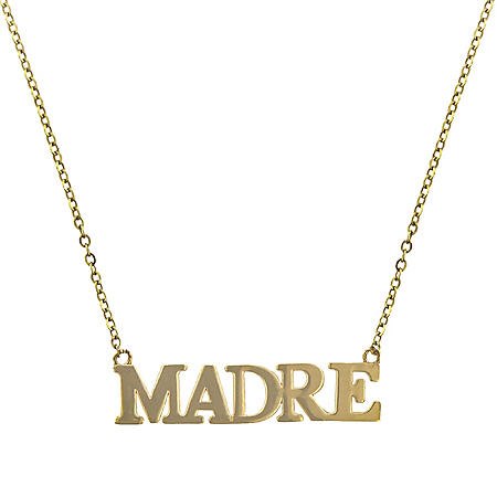 14K Yellow Gold Madre Necklace, 18""