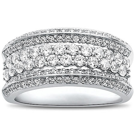 1.25 CT. T.W. 14K White Gold Fashion Ring I,I1