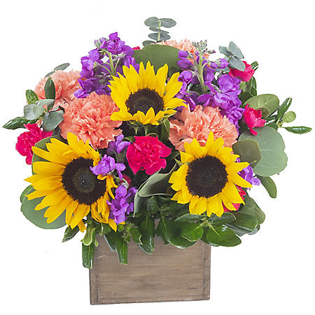 Sunshine Floral Centerpiece Arrangement