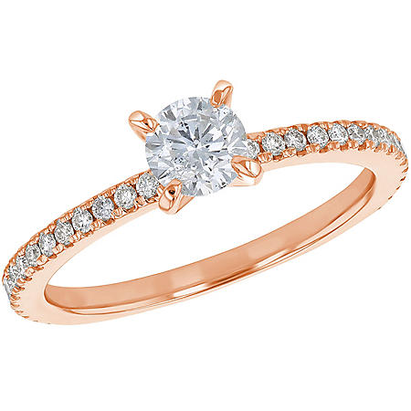 S Collection Bridal 0.75 CT. T.W. Diamond Ring in 14K Gold (SI2, H-I)