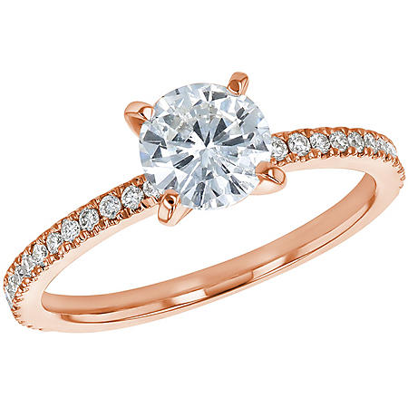 S Collection Bridal 1.20 CT. T.W. Diamond Ring in 14K Gold (I1, H-I)