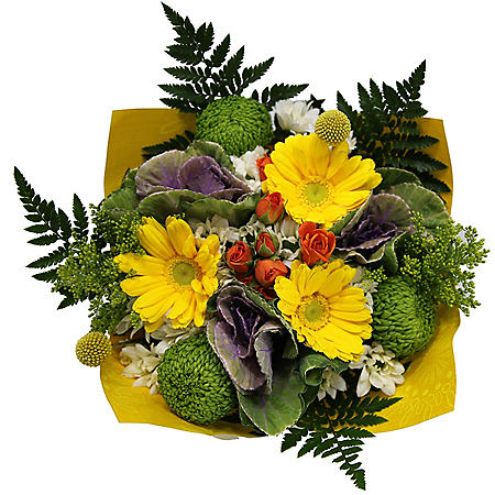 Share Happiness Mixed Pom Bouquet (4 bunches)