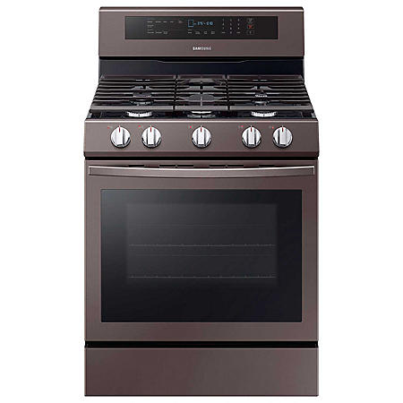 Samsung 5.8 cu. ft. Gas Range with Illuminated Knobs