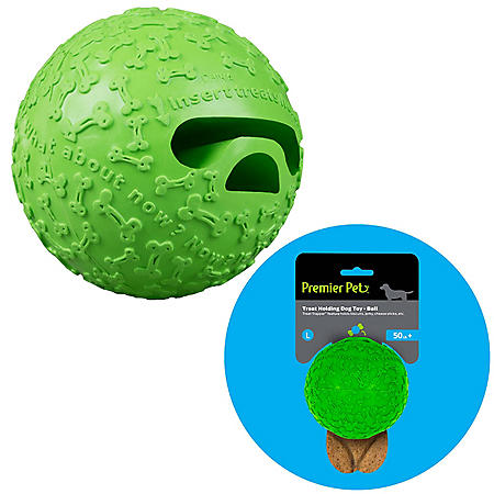 Premier Pet Treat Holding Ball Dog Toy, Large (2 pk.)