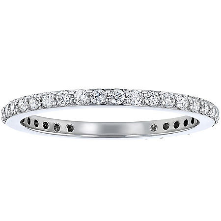 S Collection 1/2 CT. TW Diamond Eternity Band in 14K Gold