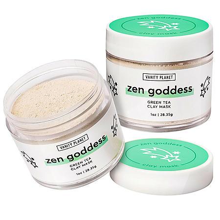 Vanity Planet Zen Goddess Green Tea Clay Mask (1 oz., 2pk.)