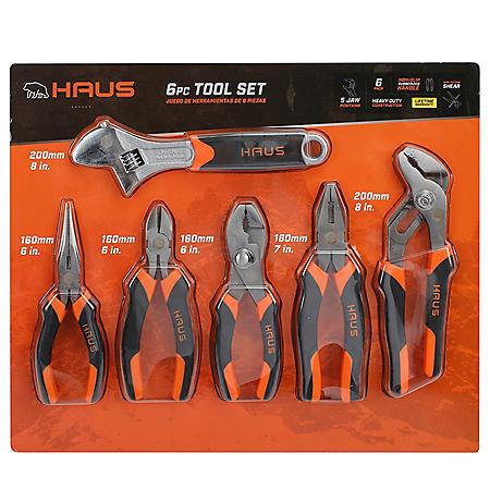 Haus 6-Piece Tool Set