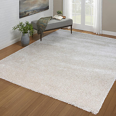 Laura Ashley Collection Shag Rug (Assorted Colors)