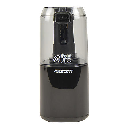 Westcott Ipoint Aura Ti Non-Stick Electric Pencil Sharpener, Choose a Color