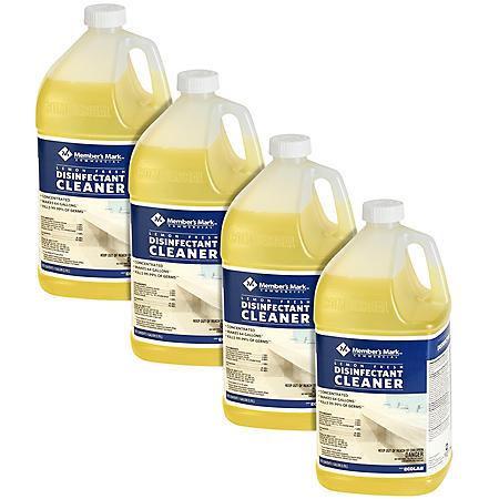 Member's Mark Commercial Lemon Fresh Disinfectant Cleaner (4 gallons total)