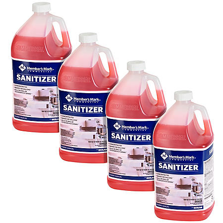 Member's Mark Commercial Sanitizer (4 gallons total)
