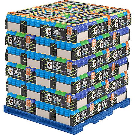 Gatorade Fierce Variety Pack Pallet (54 cases)