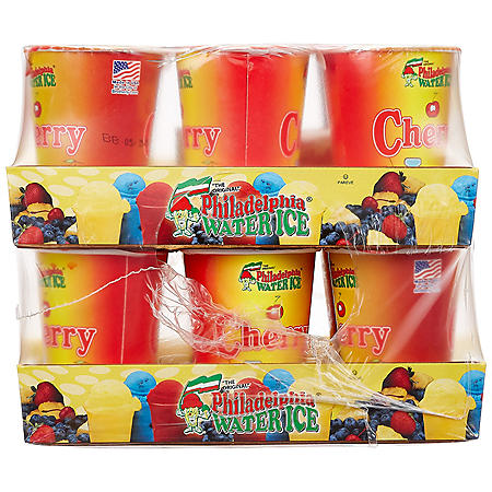 Philadelphia Water Ice Cups, Cherry (8 fl. oz. ea., 12 ct.)