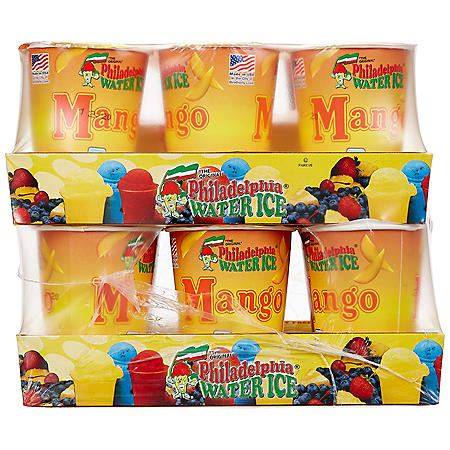 Philadelphia Water Ice Cups, Mango (8 fl. oz. ea., 12 ct.)