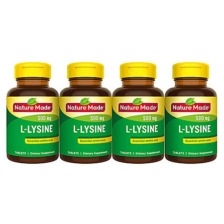 Nature Made® L-Lysine 500 mg Tablets (400 ct.)
