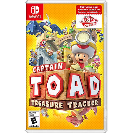 Captain Toad Treasure (Nintendo Switch)