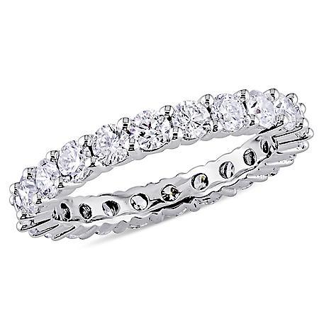 Allura 2 CT. T.W. Diamond Eternity Anniversary Ring in 14K White Gold