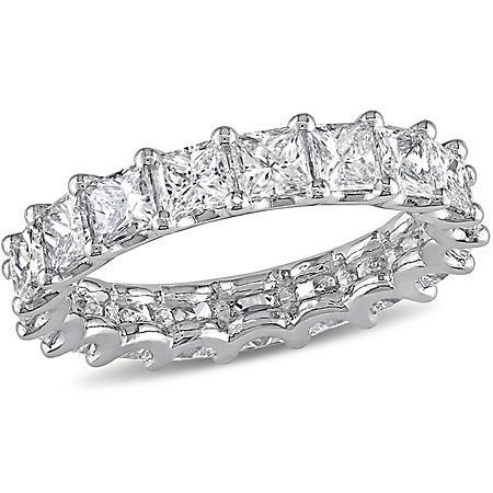 Allura 3.28 CT. Princess-Cut Diamond Eternity Ring in Platinum