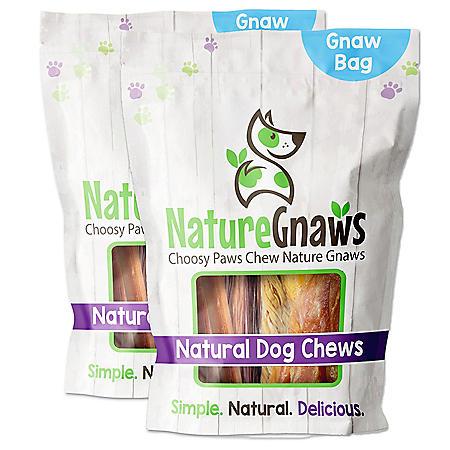 "Nature Gnaws Combo Dog Chews, 4-6"" Length (12 ct.)"
