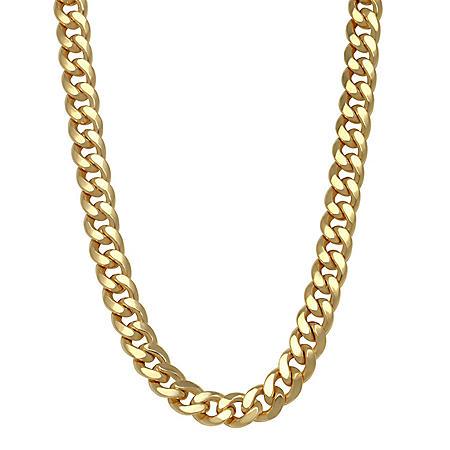8MM Semisolid Cuban Chain in 14K Gold