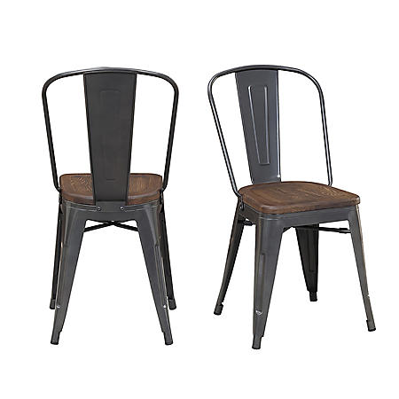 Society Den Davis Metal Chair Set