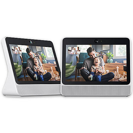 "Portal from Facebook. Smart Video Calling with 10"" Screen - 2 Pack (Choose Color)"