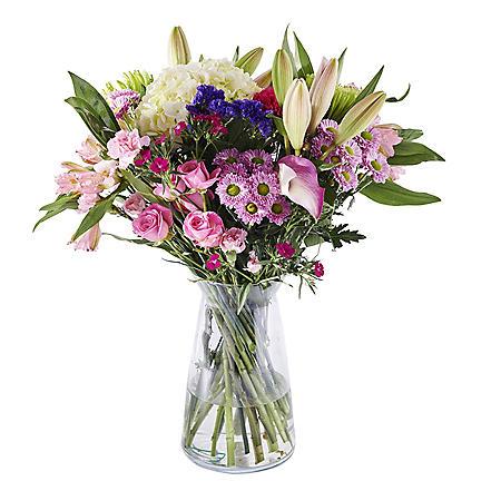 Pink Valentine's Day Bouquet