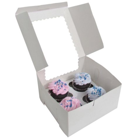 "Cupcake Insert for Cake Box (7"" x 7"" x 4"", 24 pk.)"