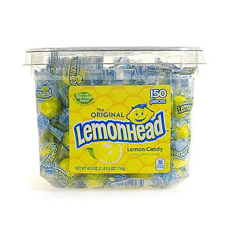 Lemonhead Tub (150 pc.)