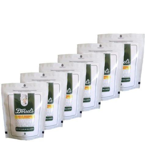 Dorsel's White Self-Rising All-Natural Corn Meal (80 oz., 6 pk.)