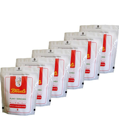 Dorsel?s White Plain-Enriched Corn Meal (80 oz., 6 pk.)