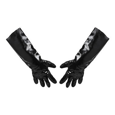 Impact PVC Lined Gloves, Black (18