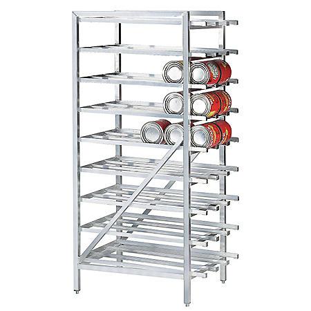 Advance Tabco Aluminum Can Rack (Full Size)