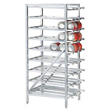 Advance Tabco Aluminum Can Rack (Full Size)