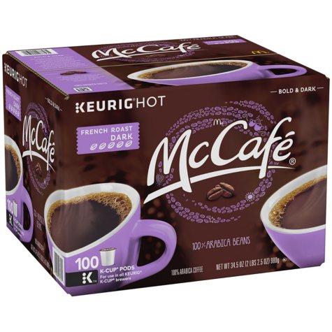 McCafe French Roast Coffee (100 K-Cups)