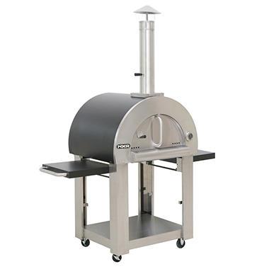 nxr wood fired oven u0026 cart assorted colors
