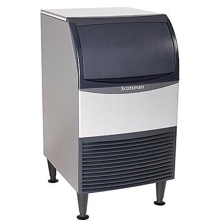 Scotsman CU0920MA-1 100 lbs. Undercounter Cube Ice Maker w/ 57 lbs. Bin