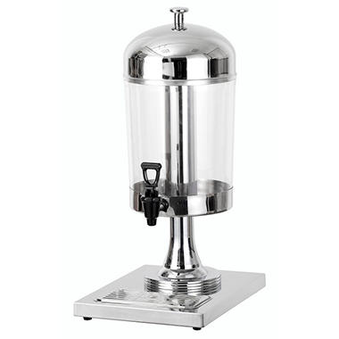 Chef's Supreme Stainless Steel Juice Dispenser, Single Bowl