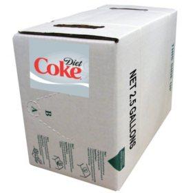 Diet Coke 2.5-Gallon Bag-in-Box Fountain Syrup