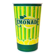 Wax Lemonade Cup - 32 oz. - 480 ct.