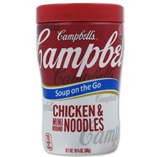 Campbell's Chicken Noodle Soup at Hand (10.75 oz. Cup)
