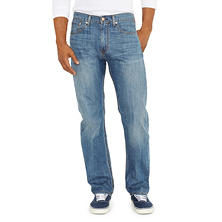 Levi's 505 Light Wash Denim