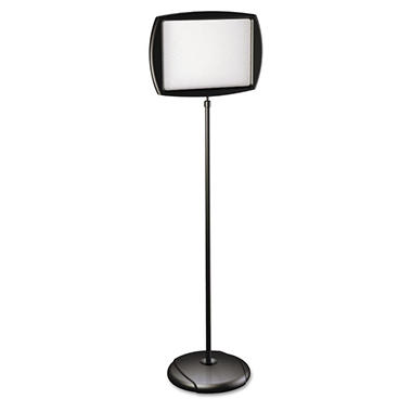 MasterVision Floor Stand Sign Holder, Rectangle, 11