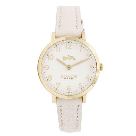 Women's Ultra Slim Leather Watch by COACH